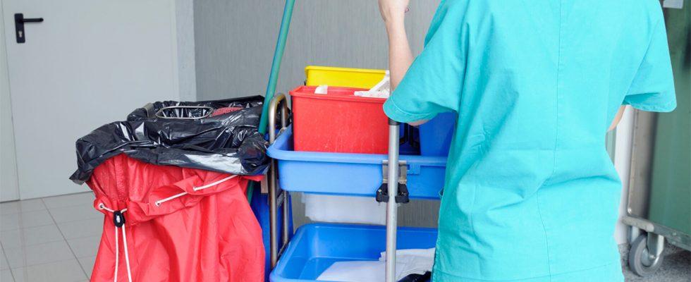 Le rôle des ASH dans la désinfection de l'hôpital